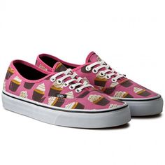 Teniși VANS - Authentic VN0003B9IFD (Late Night) Hot Pink/Cupcakes