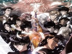 X/1999 - amazing anime about the end of days through supernatural and semi religious mythology. From the amazing Clamp team!!!