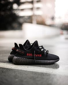 For sale Adidas Yeezy Boost 350 Core Black Red / Bred shoes online Casual Sneakers, Sneakers Fashion, Fashion Shoes, Runway Fashion, Adidas Originals, Yeezy Shoes, Shoes Online, Adidas Women, Casual Styles
