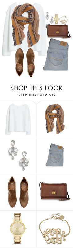 """""""it's 2016!! {read d}"""" by a-little-prep-in-your-step ❤ liked on Polyvore featuring MANGO, Hinge, Kate Spade, Abercrombie & Fitch, H&M and The Bridge"""