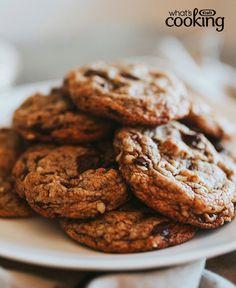 Original BAKER'S Dark Chocolate Chunk Cookies #recipe