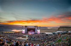 Without a doubt one of the coolest music venues in the world, The Gorge Amphitheatre, is one have the best outdoor venues on the 🌎. The Gorge Washington, Washington State, George Washington, Watershed Festival, The Places Youll Go, Places To See, The Gorge Amphitheater, Columbia River Gorge, Outdoor Venues