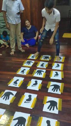 Indoor Games For Kids, Fun Activities For Kids, Diy For Kids, Family Games Indoor, Babysitting Activities, Family Activities, Board Games For Kids, Parachute Games For Kids, Name Activities Preschool