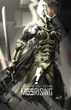 Metal Gear Solid Rising : Raiden