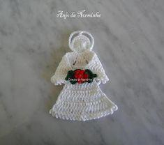 OFICINA DO BARRADO: Croche & Natal - PAP Anjos para Barrar ...