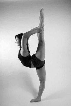 scorpion extension!    This is how I imagine myself when not pregnant :p