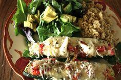 Zucchini Pizza Boat Recipe. Vegetarian and Gluten free. Complex carb. I love tasty healthy meals!!! GF #gluten #free #recipes