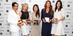 After being pampered for two days at The Surrey Hotel, Bazaar, Esteé Lauder and Saks Fifth Avenue honored the five loyal Bazaar readers, dressed head to toe in Theory.