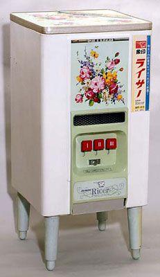 象印ライサー。☆Zōjirushi brand retro rice dispenser.
