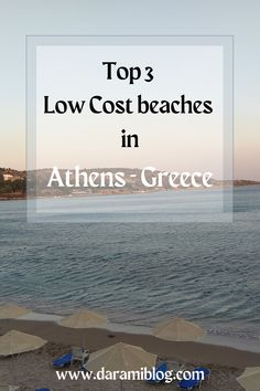 If you are looking for a way to relax while in Athens, I suggest a day at the beach! Come and check everything you need to know about the BEST 3 beaches and choose the one that suits your needs. #beaches #travel #ATH #beachesonabudget #athens Places Worth Visiting, Places To Visit, Travel Guides, Travel Tips, Did You Know, Need To Know, Best Flight Deals, Visit Greece, Ways To Relax