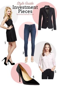 ea99b623154 What investment pieces every girl needs in her closet  essentials Perfect  Wardrobe, Closet Essentials