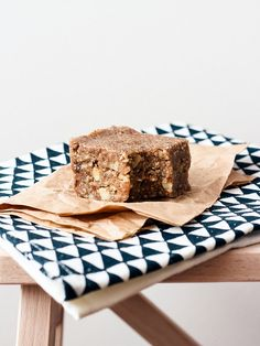 Raw banana nut bread - need almonds, walnuts, oat groats, dates, very ripe bananas, food processor; by Ashlae | oh, ladycakes, via Flickr