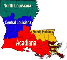 """Acadiana"" The best part of Louisiana, where the motto is ""Roulez les bon temps"" ... As a Teach for America corps member in 2008, I was sent to Baton Rouge to teach literacy. I ended up falling in love with etoufee, crawfish, gumbo, and my future husband! What a great backdrop to fall in love- great camping, sight-seeing, and strolling in the French Quarter! We were constantly cooking, joining in community crawfish boils, and celebrating every holiday with a parade!! Geaux Louisiana!"