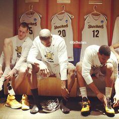Zach Bush (on left) Wsu Shockers, Wichita State, March Madness, Sports, State University, Basketball, Game, Hs Sports, Gaming