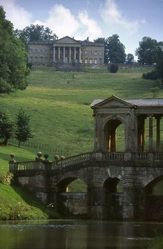 Prior Park, Bath...I went to Bath but unfortunately I didn't get to see this.  Time to go back!