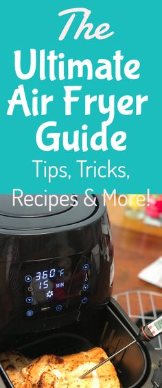 What is an Air Fryer? The Ultimate Air Fryer Guide! - What is an Air Fryer? The Ultimate Air Fryer Guide! sewing Air Fryer / Air Fryer Guide / Air Fryer Recipes via - Air Fryer Recipes Meat, Power Air Fryer Recipes, Power Air Fryer Xl, Air Frier Recipes, Air Fryer Dinner Recipes, Power Airfryer Xl Recipes, Airfryer Baking Recipe, Avocado Toast, Phillips Air Fryer