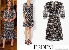 ERDEM Suzi Lace Dress