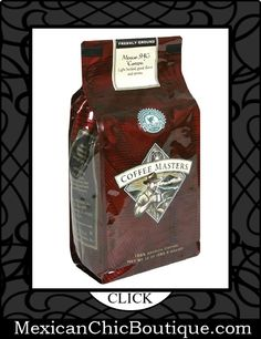 Mexican Coffee | Coffee | Cafe | Cafe Mexicano ♥ Coffee Masters Gourmet Coffee, Mexican SHG Custepec, Ground, 12-Ounce Bags (Pack of 4) $31.13