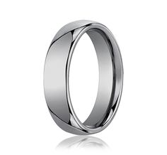 benchmark tungsten 6mm wedding band for Gil