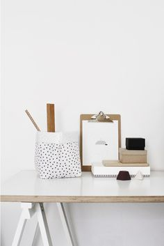 Future & Found, Varpunen Storage Sack. Home Interior, Interior Styling, Interior And Exterior, Desk Styling, Studio Interior, Desk Inspiration, Interior Inspiration, Desk Inspo, Home Decoracion