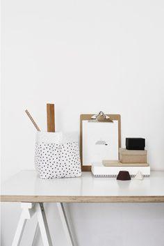 Via Varpunen | Varpunen Sack | White and Wood Office Styling
