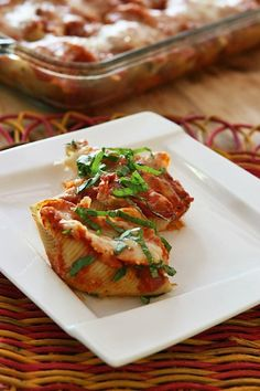 Stuffed Shells with Kale [Ingredients, Inc.]
