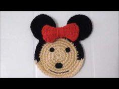 Porta copo mickey minnie - YouTube