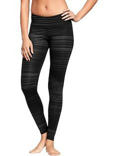 Womens Old Navy Active Compression Leggings