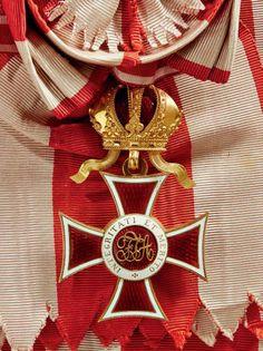 Leopold Order, Grand Cross sash badge, 1860.