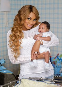Tamar Braxton Shows Off Her Baby Boy Logan (@Tamar King King King Braxton)