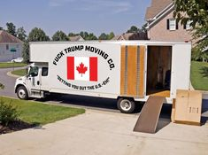 There's finally a moving company just for people who say they're heading to Canada if Trump gets elected.