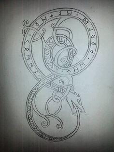 Viking Serpent by MagnusUlfgarsson.deviantart.com on @DeviantArt