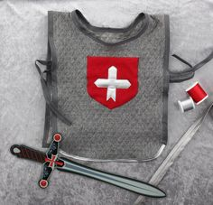 Fabriquez votre plastron de chevalier #déguisement #rascol