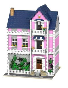 LEGO Modular Ladies Apartment INSTRUCTIONS ONLY! 10182 10224 10232 10243 #LEGO