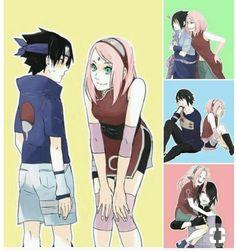 Lol Thats my sakura Haha Anime Naruto, Naruto Comic, Naruto Shippuden Sasuke, Sasuke Sakura Sarada, Naruto Cute, Naruto And Sasuke, Funny Naruto Memes, Naruto Teams, Naruto Couples