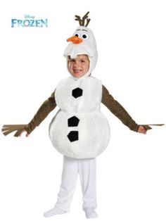 Toddler Frozen's Olaf Deluxe Costume - Infant/Toddler TV and Movie Halloween Costumes