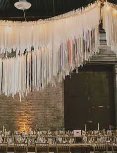 Rad handmade hanging fringe garlands