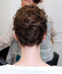 Top 10 Professional Curly Hairstyles, French Twist