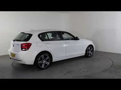 BMW 1 SERIES 116D SPORT - Air Conditioning - Alloy Wheels | In white with 42000 miles on the clock. Click here to see the full listing: ...