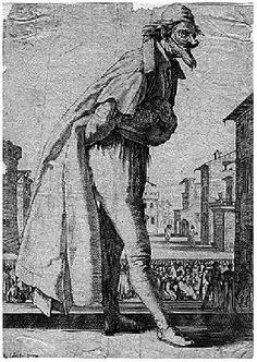 Jacques Callot - Pantalone - 1618