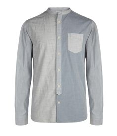 A basic long sleeve button up with some color variation.By Flaxville Long Sleeved Shirt