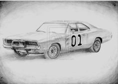 Dodge Charger - General Lee by katys1996