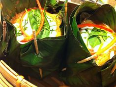 Banana leaves, Fish and Leaves on Pinterest