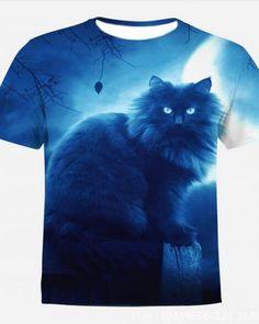 2cf283cf8262e Persian cat t shirt galaxy plus size clothing for big and tall men
