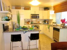 Wow! A Kitchen Remodel For Under $5K  http://www.homegoods.com/blog/2013/05/02/wow-a-kitchen-remodel-for-under-5k/