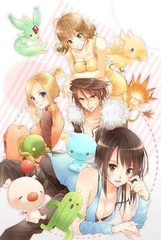 La familia (en parte) de Final Fantasy VIII