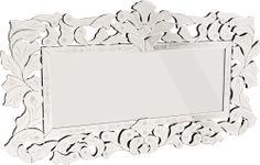 OnLine Atelier - Loja Virtual - arte - decoração - deign-  Espelho ref 001018. com moldura em MDF espelhada, com 65cm x 115cm.  Pronta entrega Informações: (54) 9165-9726 - onlineatelier@hotmail.com