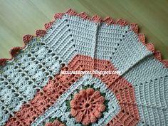 Jussara tapetes: Tapete 10 flores catavento - T68