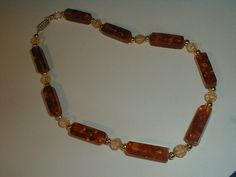 vintage rare rectangular genuine amber by fadedglitter42263, $88.00