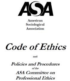 ASA Professional Code of Ethics, Policies & Procedures